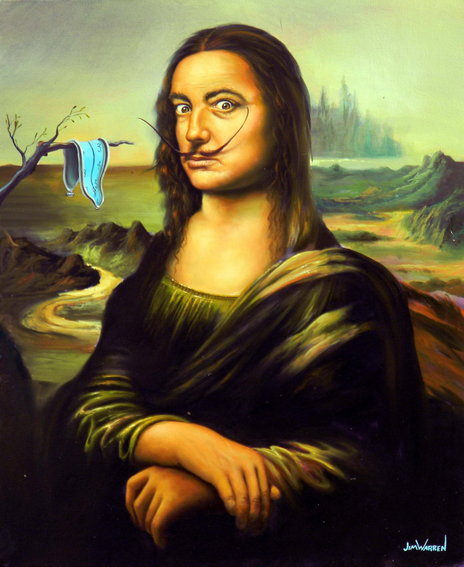 Dali by Da Vinci - Jim Warren Studios