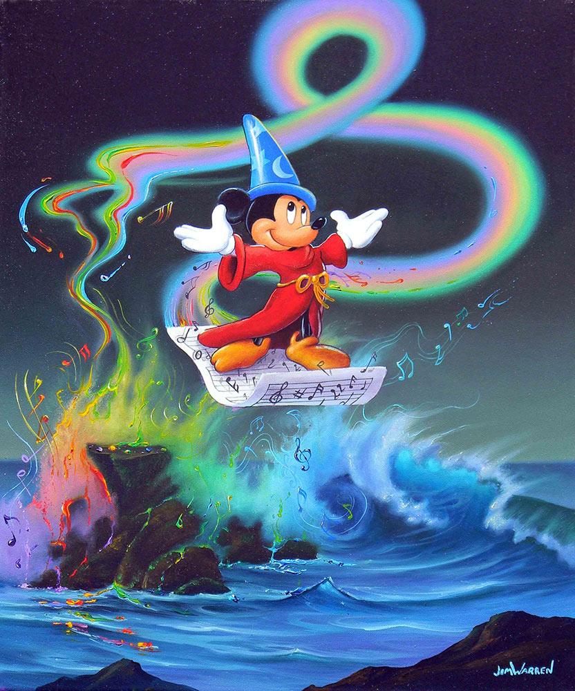 Mickey Making Music
