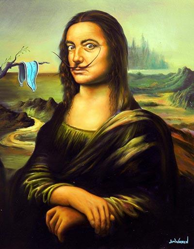 Dali by Da Vinci