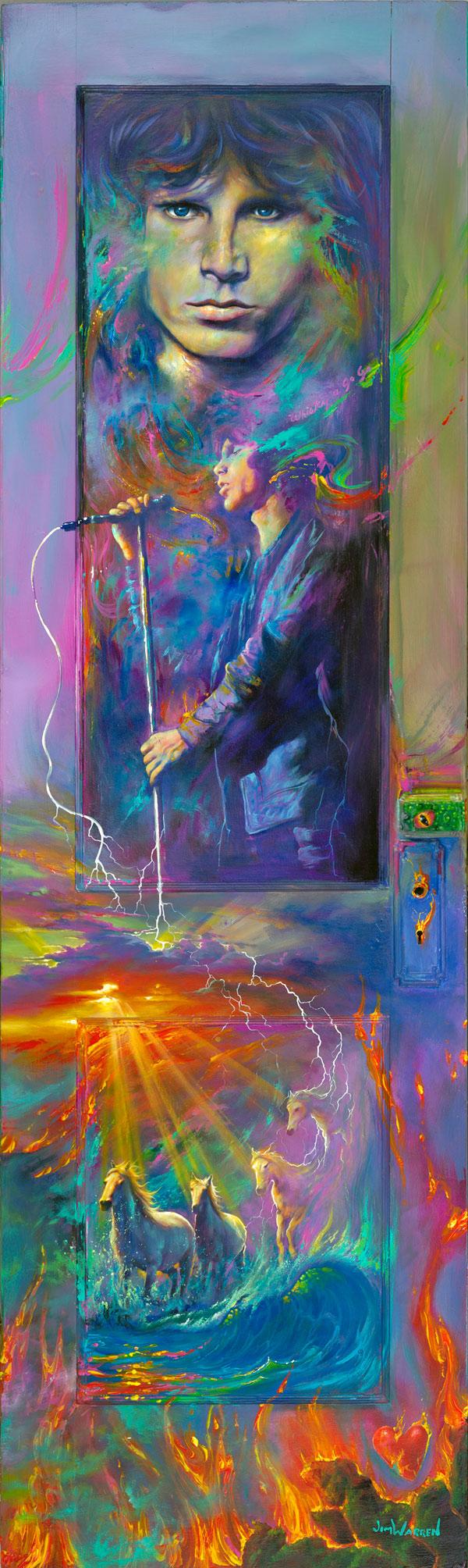 Jim Morrisonu0027s Door  sc 1 st  Jim Warren & Jim Morrisonu0027s Door - Jim Warren Studios pezcame.com