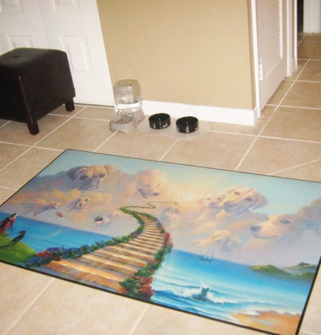 All Dogs Go To Heaven #2 Floor Mat