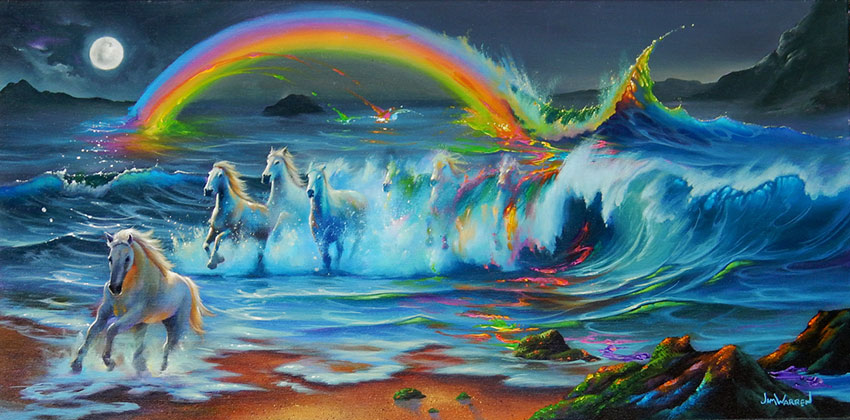 Living Color by Jim Warren