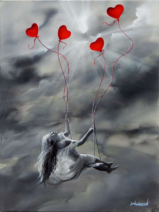 Lifted By Love - Jim Warren