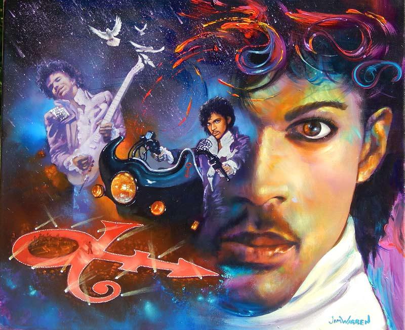 Prince Purple Rain - Jim Warren
