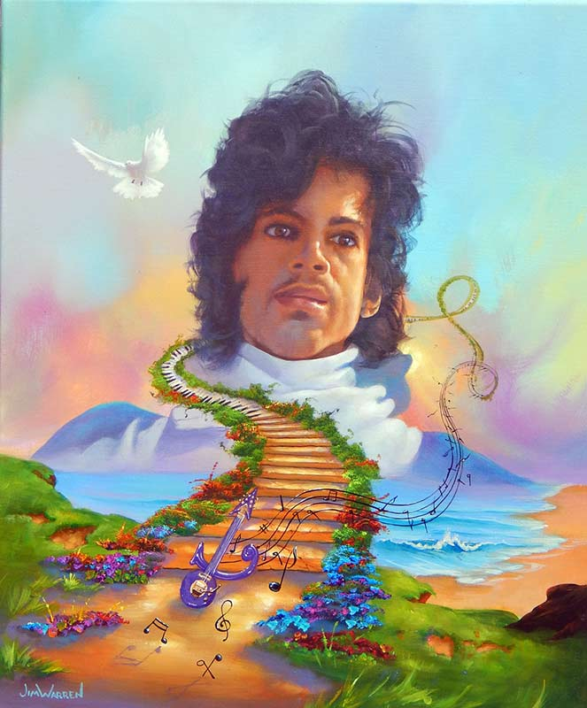 Prince The Music Lives On - Jim Warren