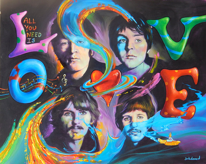 Beatles - All You Need is Love by Jim Warren