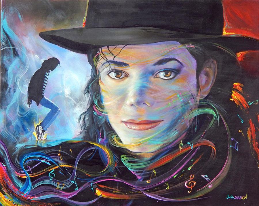 Michael's Multi-Colored Music