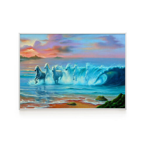 Wild Waters Poster by Jim Warren