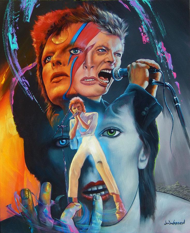 Bowie by Jim Warren