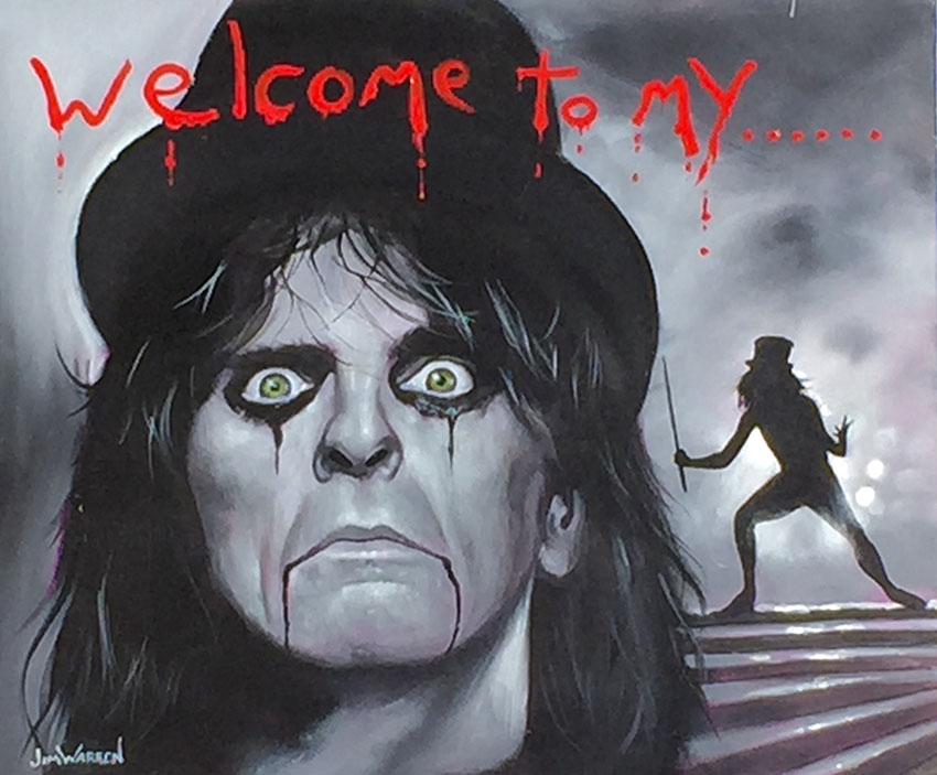 Alice Cooper: Welcome to My Nightmare by Jim Warren