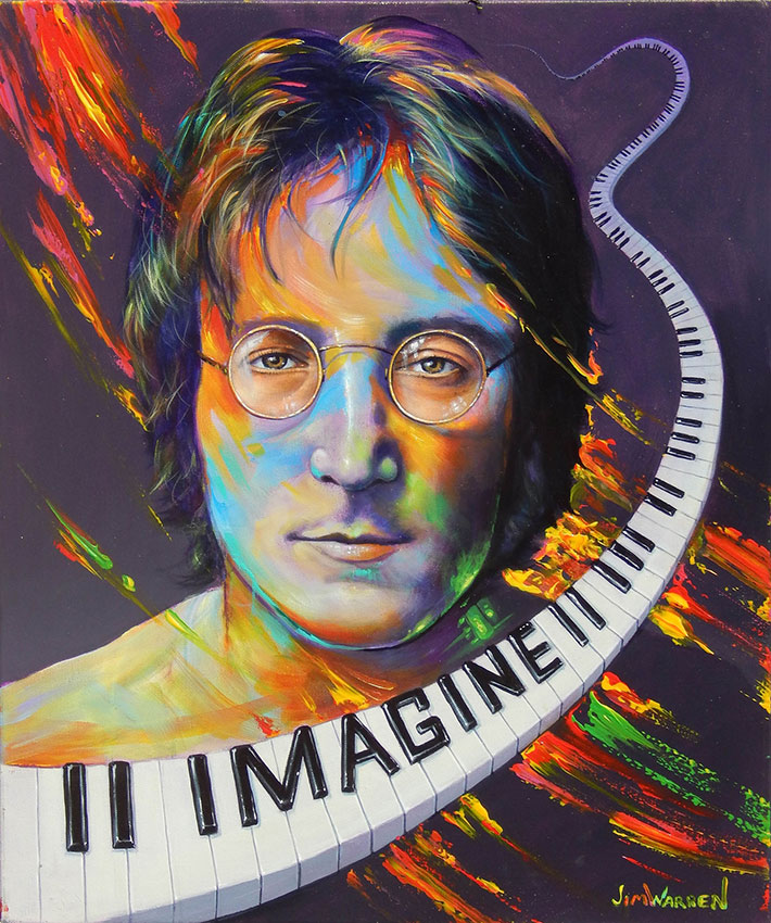 John Lennon: Imagine by Jim Warren