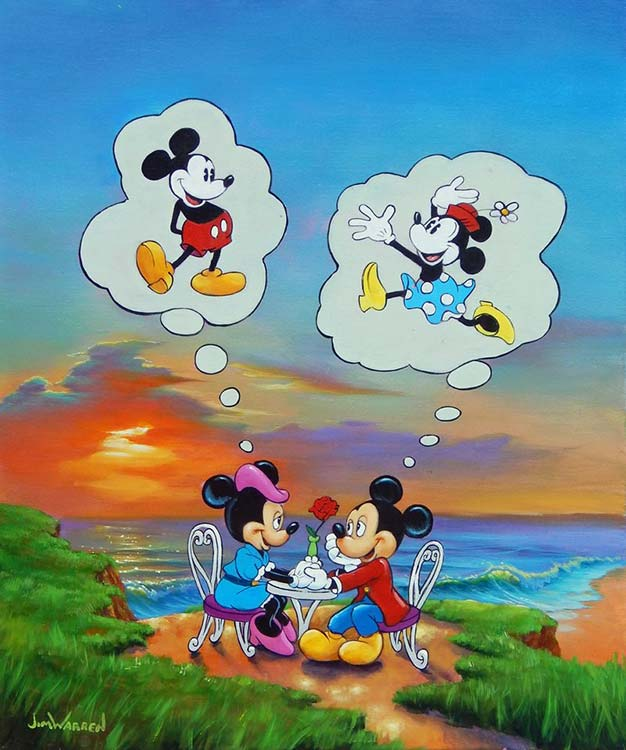 Mickey and Minnie's Memories by Jim Warren