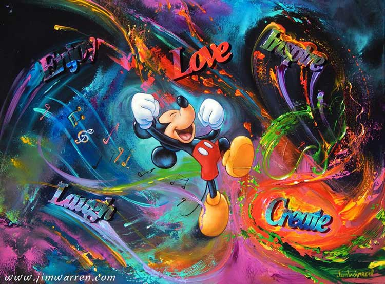 Mickey's Messages by Jim Warren