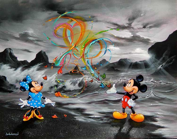Mickey's Most Amazing Message by Jim Warren