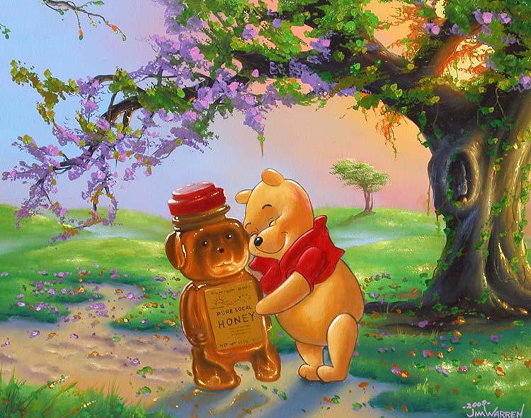 Winnie's Best New Friend by Jim Warren
