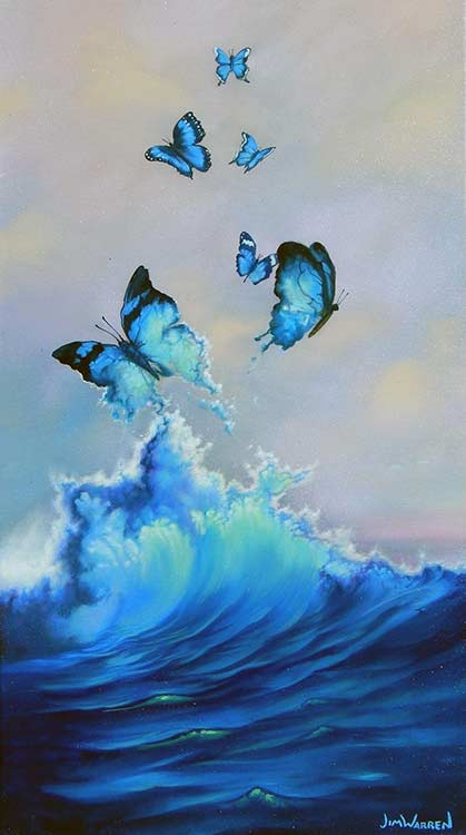 Butterflies are Free to Fly by Jim Warren