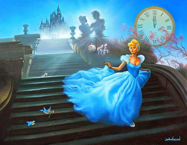 Cinderella at Midnight by Jim Warren