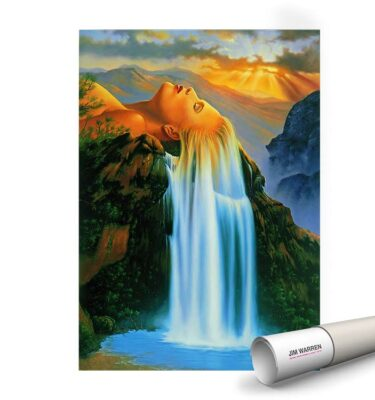 Natural Beauty Poster by Jim Warren