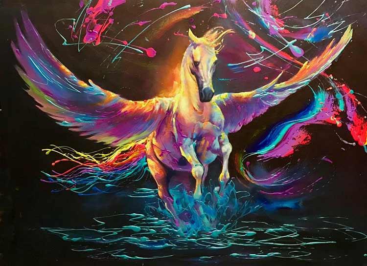 Pegasus by Jim Warren