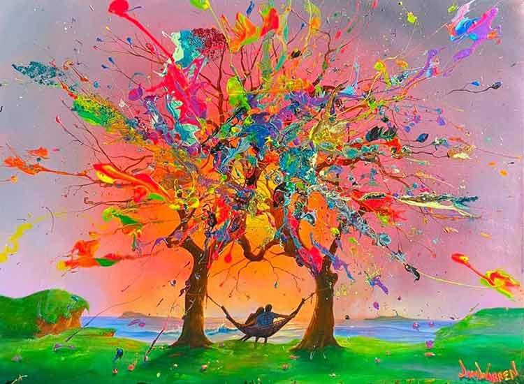 Trees of Love by Jim Warren