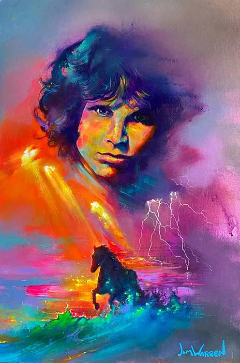 Jim Morrison; Riding The Storm
