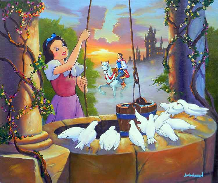 Snow White's Wish by Jim Warren