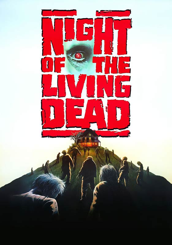 Night of the Living Dead Movie Poster by Jim Warren