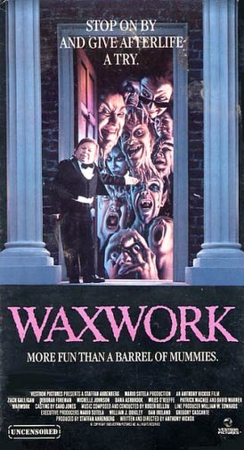 Wax Works Movie Poster by Jim Warren
