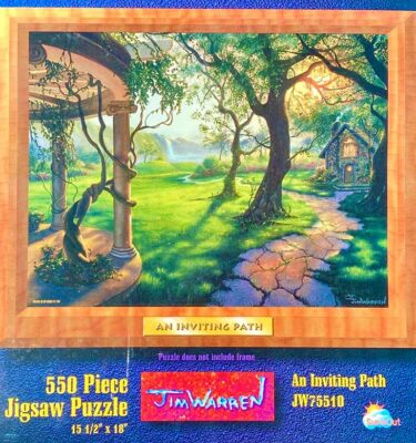 An Inviting Path Puzzle by Jim Warren