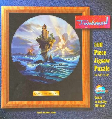 Castle In The Sky Puzzle by Jim Warren
